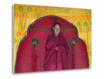 Monks in Sakya Monastery, Tibet, China