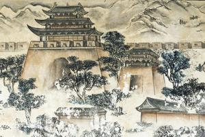 Mural telling the story of Journey to the West, Gansu Province, China by Keren Su