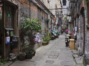 Narrow Lanes in Traditional Residence, Shanghai, China by Keren Su