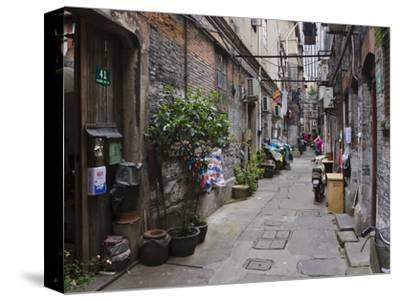 Narrow Lanes in Traditional Residence, Shanghai, China
