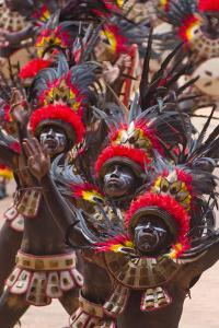 Parade at Dinagyang Festival, City of Iloilo, Philippines by Keren Su