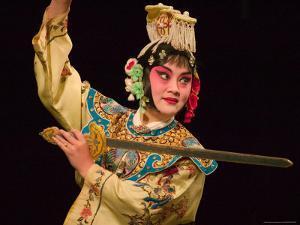 Peking Opera Performance, Beijing, China by Keren Su