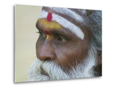 Portrait of a Holy Man, Varanasi, India