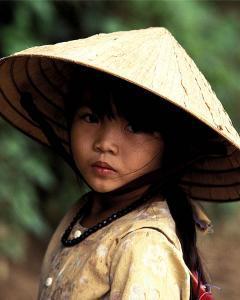 Portrait of a Vietnamese Girl by Keren Su