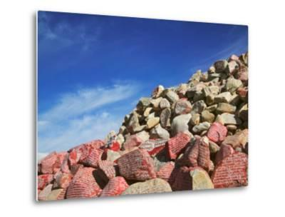 Prayer Words Carved on Rocks, Nima Pile, Baqing, East Tibet, China