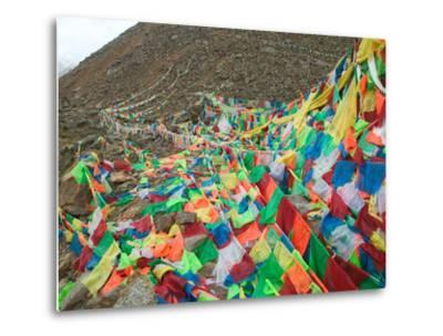 Praying Flags with Mt. Quer Shan, Tibet-Sichuan, China