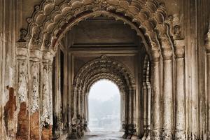Puthia Temple Complex in morning mist, Rajshahi Division, Bangladesh by Keren Su