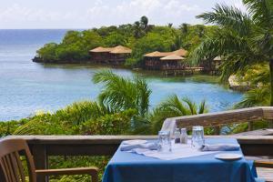 Resort on the Water, Roatan Island, Honduras by Keren Su