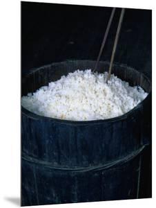 Rice in a Wooden Barrel, Guangxi, China by Keren Su