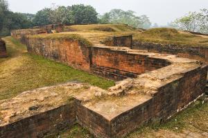 Ruins of Govinda Bhita, Mahasthangarh, Bangladesh by Keren Su