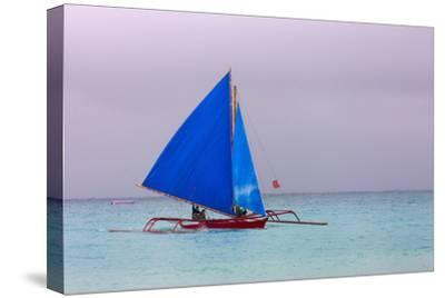 Sailing in the Ocean, Boracay Island, Aklan Province, Philippines