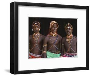 Samburu Tribesmen by Keren Su