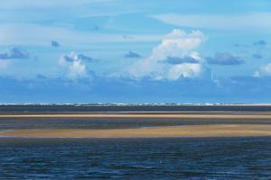 Sand Dune and Lagoon in Lencois Maranheinses NP, Maranhao, Brazil by Keren Su