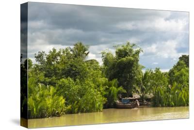 Scenery Along the Kaladan River, Rakhine State, Myanmar