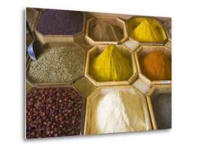 Selling Spices at the Market, Dubai, United Arab Emirates