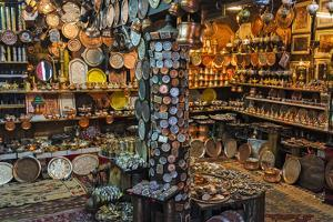 Shops on coppersmith street in old town, Sarajevo, Bosnia and Herzegovina by Keren Su