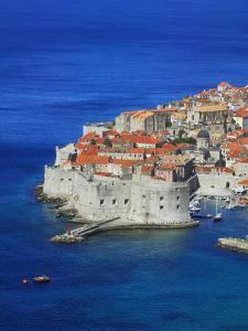 Shores of Adriatic Sea, Dubrovnik, Croatia by Keren Su