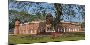 Sixty Domed Mosque in Bagerhat, UNESCO World Heritage Site, Khulna Division, Bangladesh by Keren Su