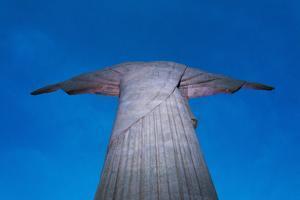 Statue of Christ the Redeemer on Corcovado, Rio de Janeiro, Brazil by Keren Su
