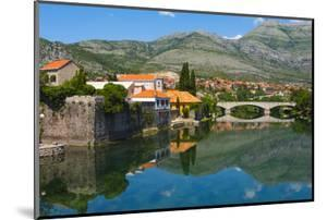 Stone bridge and old town by Trebisnjica River, Trebinje, Bosnia and Herzegovina by Keren Su
