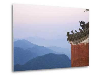 Taoist Temple in Mountain Landscape