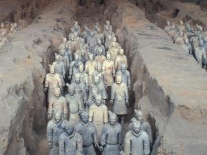 Terra Cotta Warriors, Xian, China by Keren Su