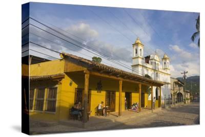 The Town of Copan Ruinas, Honduras