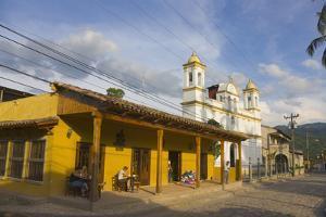 The Town of Copan Ruinas, Honduras by Keren Su