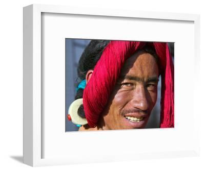 Tibetan Man, Tibet, China