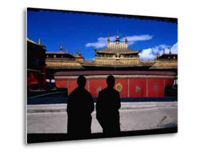 Tibetan Monks Inside Jokhang Monastery, Lhasa, China