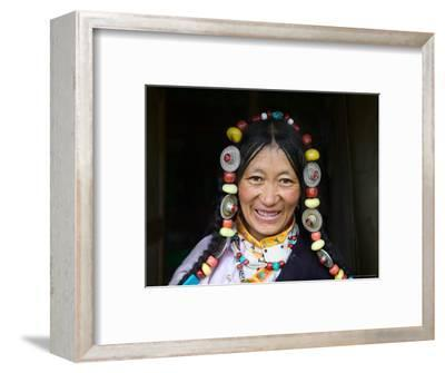 Tibetan Woman, Tibet, China