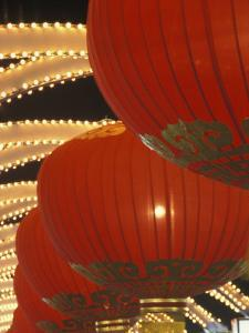 Traditional Red Lanterns, China by Keren Su