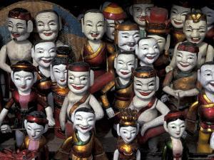 Water Puppets, Hanoi, Vietnam by Keren Su