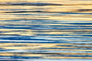 Water Ripples at Sunset, Inle Lake, Shan State, Myanmar by Keren Su