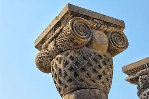 Zvartnots Cathedral (UNESCO World Heritage Site) Vagharshapat, Armavir Province, Armenia. by Keren Su