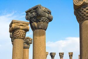 Zvartnots Cathedral, UNESCO World Heritage Site, Vagharshapat, Armavir Province, Armenia by Keren Su