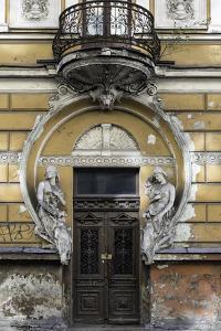 Dilapidated Art Nouveau Building, Riga Latvia by KerinF