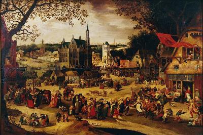 Kermis, C.1600-1605-David Vinckboons-Giclee Print