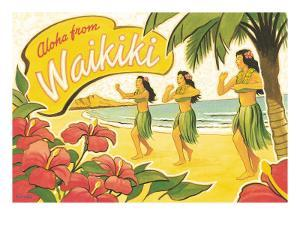 Aloha from Waikiki by Kerne Erickson