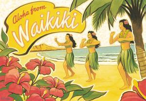 Aloha from Waikiki by Kerne Erickson