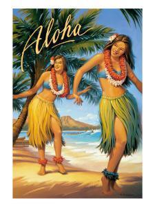 Aloha, Hawaii by Kerne Erickson