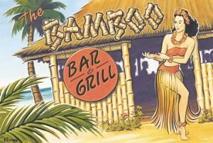 Bamboo Bar and Grill, Hawaii by Kerne Erickson