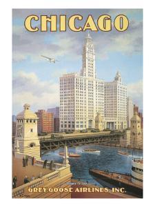 Chicago by Kerne Erickson