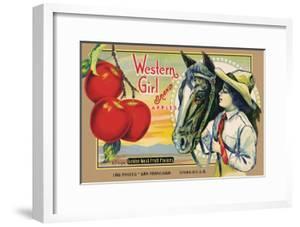 "Crete Label ""Apple"" by Kerne Erickson"