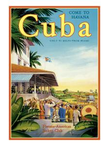 Cuba and American Jockey by Kerne Erickson