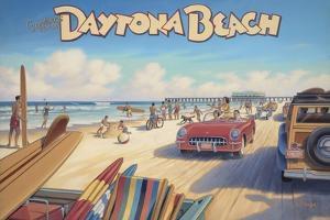 Daytona Beach by Kerne Erickson