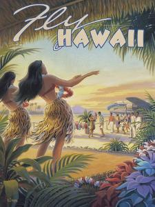 Fly to Hawaii by Kerne Erickson