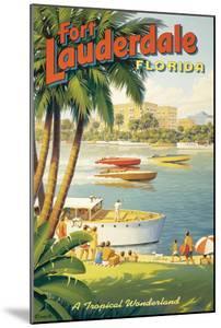 Fort Lauderdale, Florida by Kerne Erickson