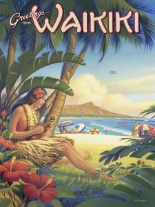 Greetings from Waikiki by Kerne Erickson