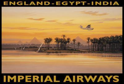 Imperial Airways, Egypt by Kerne Erickson